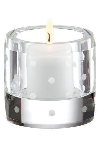 kate spade new york 'larabee dot' votive candle holder | Nordstrom