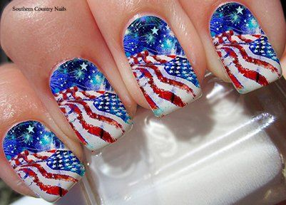 American Flag Nail Decals Full Wrap >>> To view further for this item, visit the image link.