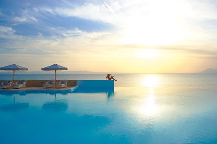 http://www.youtube.com/watch?v=V6X6tbXuUTU  Olympia Riviera Thalasso is the ultimate #Luxury_Spa_Hotel,inspired by the famed thermal springs of #Kyllini in #Peloponnese, Greece.There are two beach pools with exotic landscape & an imaginative paddling pool.  The Thalassotherapy spa centre, visible from the hotel, is lit up in the evening to create a unique Ancient atmosphere. Family activities, a la carte dining and a host of sports facilities are found in the #Grecotel Olympia Riviera Resort
