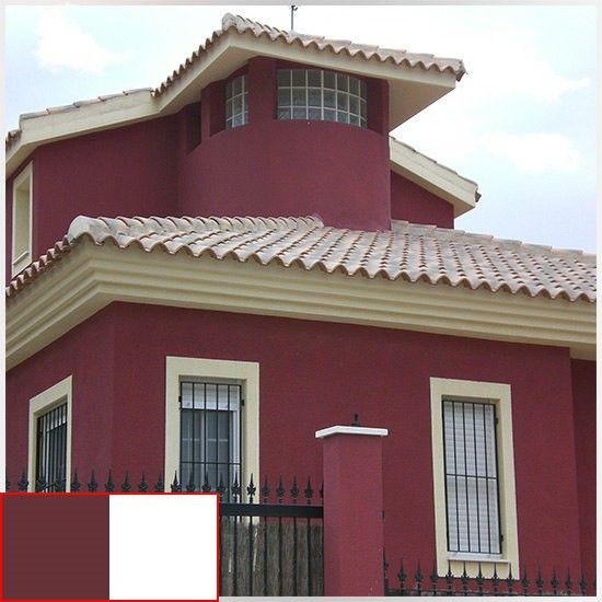 Colores para una casa por fuera 550 550 casa - Colores que combinan ...