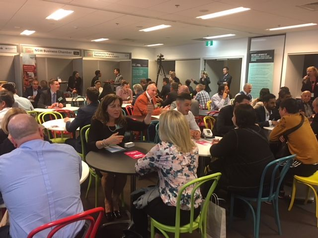 Hi everyone, here is a photo from Wednesday night of the EXCELLENT Business Speed Networking event by Canterbury Bankstown Council and Australia Post. Professional photos hopefully coming soon!