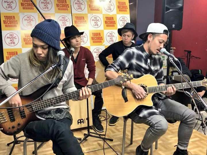 『 ROOKiEZ is PUNK'D 』Acoustic Live at Tower Records, Shibuya Japan