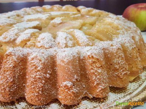 Torta ripiena di mele #ricette #food #recipes