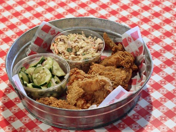 Fried Chicken at Hattie's Chicken Shack in Saratoga Springs, NY | Serious Eats