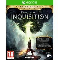 Electronic Arts Dragon Age 3 Inquisition (GOTY Edition) Xbox One (1032102)  De Game of the Year Edition bevat: - Dragon Age Inquisition basis game - Deluxe Upgrade - Jaws of Hakkon DLC - The Descent DLC - Trespasser DLC - Spoils of the Avvar Item Pack - Spoils of the Qunari Item Pack Leid een team helden op een gevaarlijke tocht door een dynamische open wereld. Ontdek de door oorlog geteisterde wereld Thedas van de verwoeste vlakten tot de grillige kusten in de nieuwe actie-RPG van BioWare…
