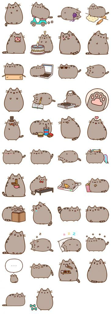 That's a lot of pusheens I found my new wallpaper for my phone