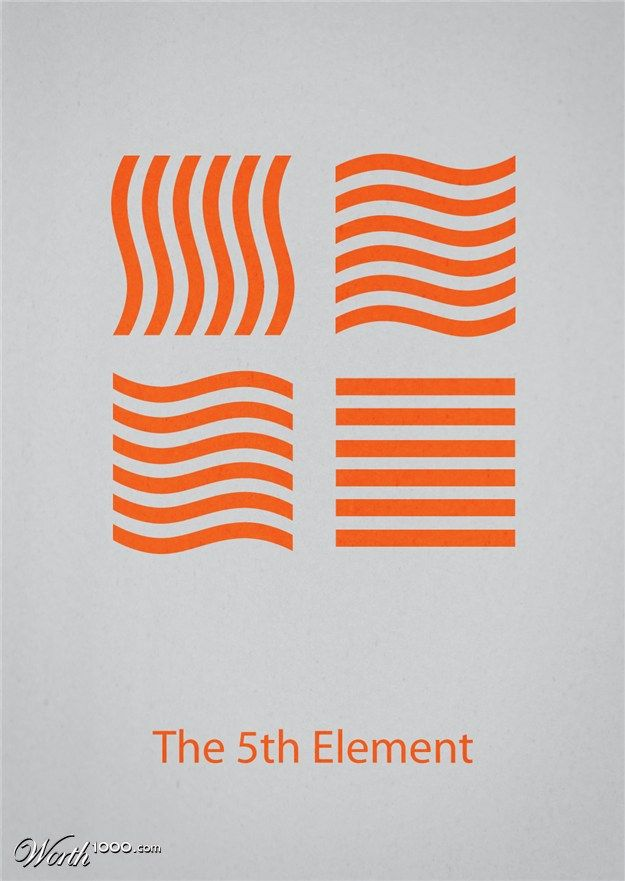 Minimalist Movie Posters 4 - Worth1000 Contests