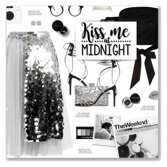 """#1157 Happy New Year, ABBA"" by blendasantos ❤ liked on Polyvore featuring Anouki, River Island, Alexandre Vauthier, Polaroid, xO Design, Bobbi Brown Cosmetics, Crate and Barrel and Cricut"