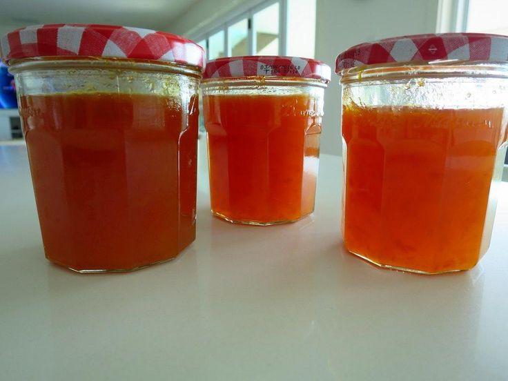 Homemade cumquat jam