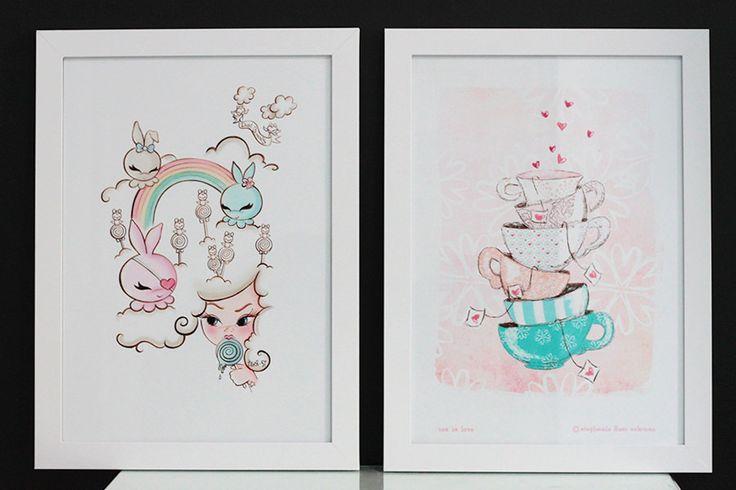 Ilustrações lindas e de graça para baixar e imprimir