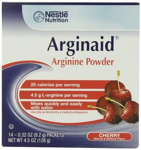 Arginaid Cherry 0.32-Ounce Packets (Pack of 56)