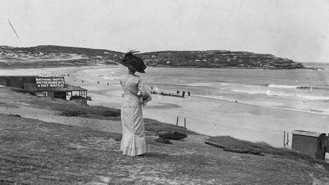 Bondi Beach. Edwardian Style  1910.  x SLNSW