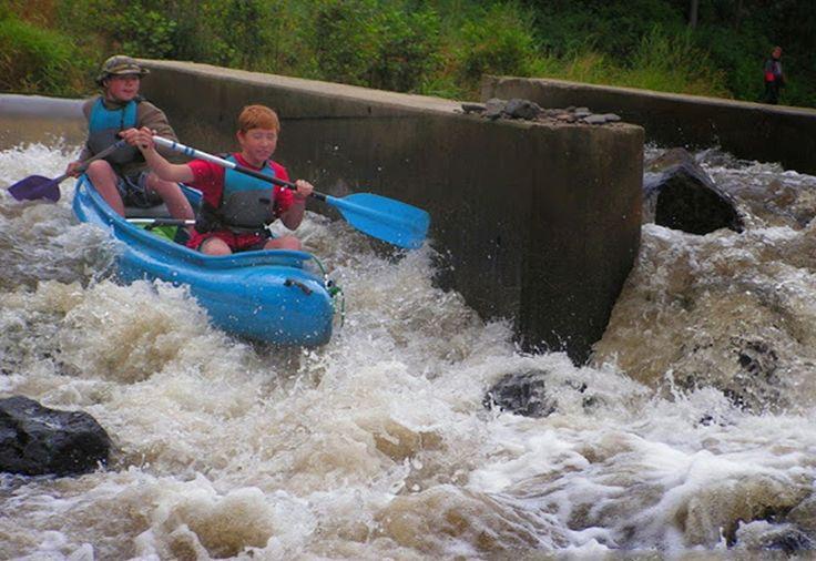 Czech Adventures event - Challenge in the canoe