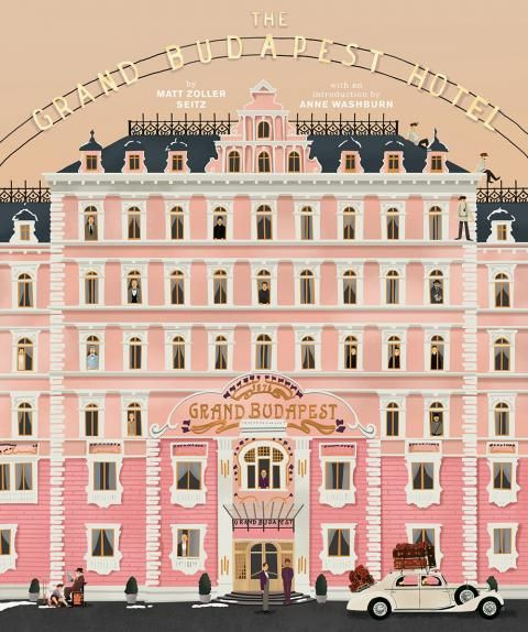 Immerse Yourself in the World of Wes Anderson's Grand Budapest Hotel #InStyle