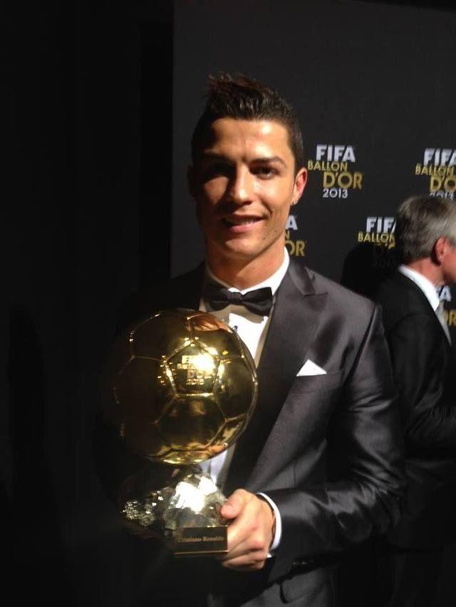 Cristiano Ronaldo - The Winner of FIFA Ballon d'Or Award 2013