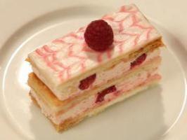 Raspberry Mille-feuille Recipe - The Sugar Club