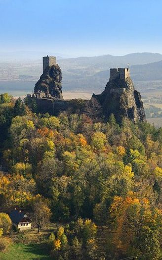Trosky castle (East Bohemia), Czechia