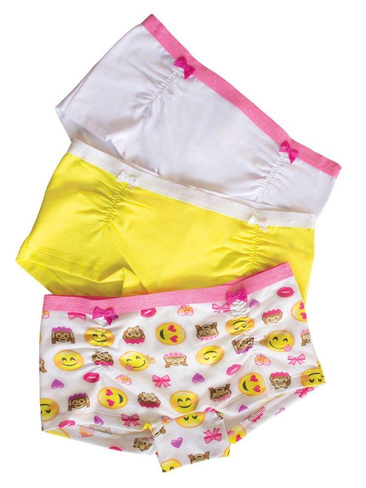 23879 Paquete 3 Boxers Ilusion - Emojis*