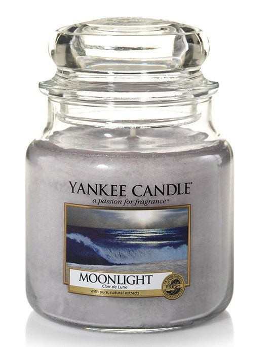 Clair de lune - Bougie moyenne jarre - Yankee Candle boutique