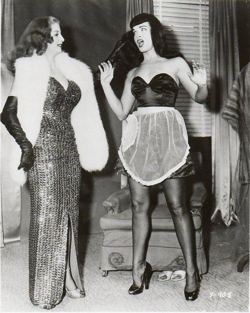 Blaze Starr & Bettie Page