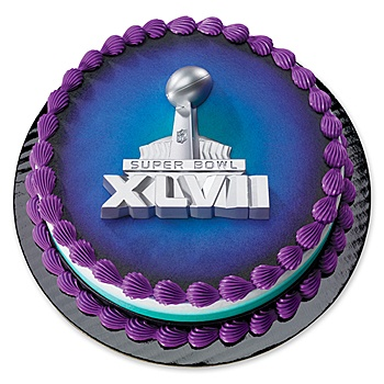 Our Super Bowl XLVII Cake Layon features a super bowl trophy in silver. The Super Bowl XLVII Layon measures 3 1/2 inches wide x 5 1/4 inches tall.    http://www.rebategiant.com/store/396/shindigz.html