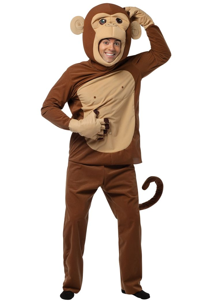 how to make a homemade monkey costume
