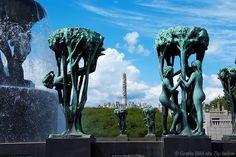 Vigeland, Skulpturenpark in Oslo