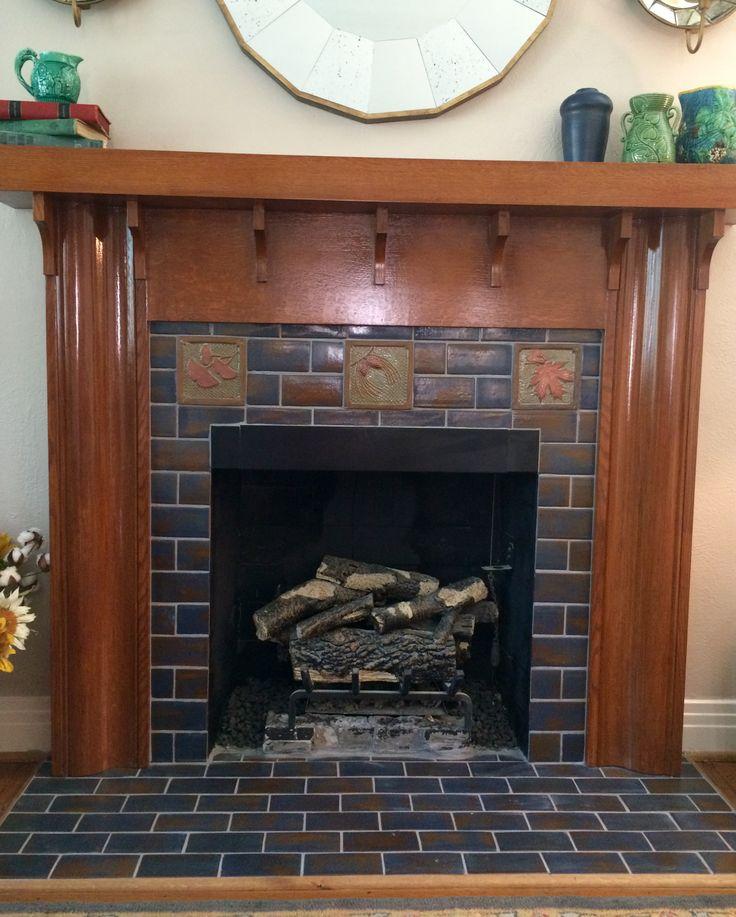 best 25 subway tile fireplace ideas on pinterest white. Black Bedroom Furniture Sets. Home Design Ideas
