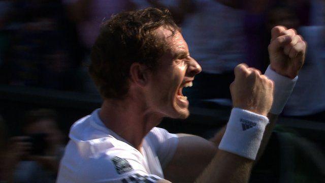 Well done Andy Murray! Congratulations on winning the Wimbledon Men's final!