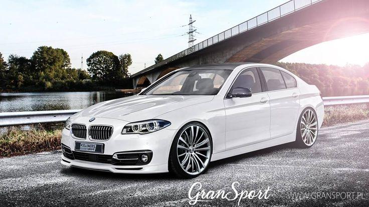 BMW Serii 5 F10 i F11 od Kelleners Sport (Official).  Kompletna oferta zawierająca elementy aerodynamiczne, zawieszenia, wydechy, pakiety mocy oraz elementy personalizacji wnętrza dostępna jest w sklepie GranSport - Luxury Tuning & Concierge:  http://gransport.pl/index.php/kelleners/bmw/seria-5-f10-i-f11.html  Szczególnie polecamy niezwykle szeroką ofertę felg aluminiowych:  http://gransport.pl/index.php/kelleners/bmw/seria-5-f10-i-f11.html?rodzaj=19