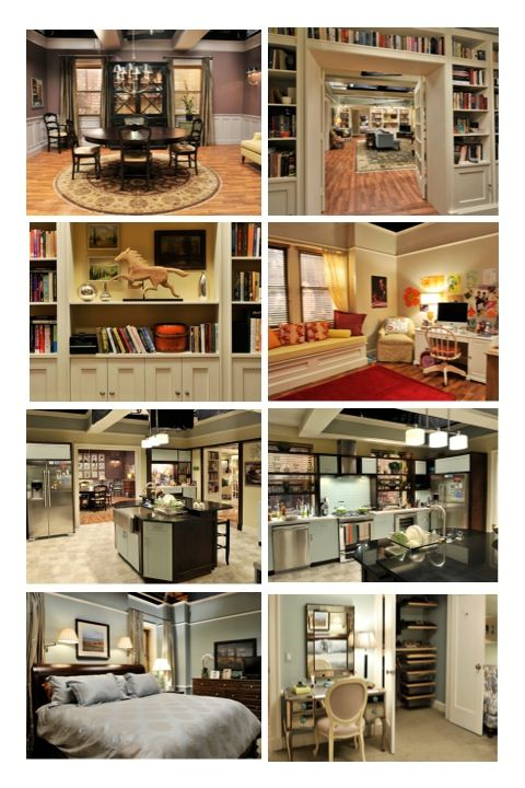"Alicia's apartment in ""The Good Wife"""
