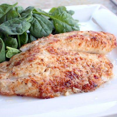 Parmesan Tilapia: Fish That Tastes Like Doritos