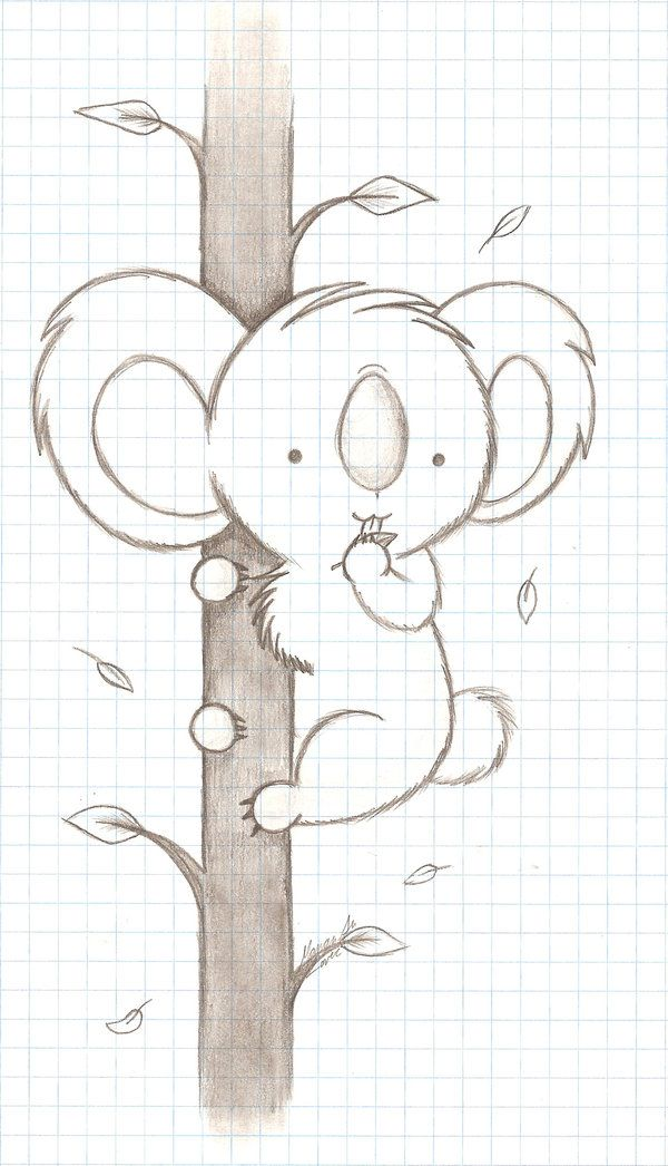 Chibi Koala by *NukeNewk on deviantART