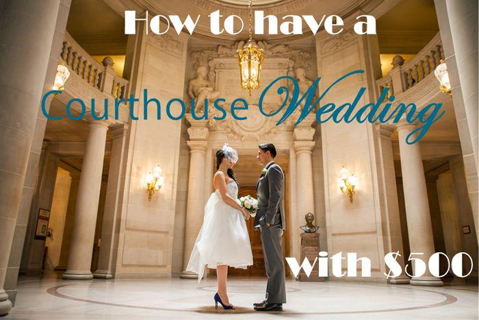 Simple Wedding Dresses Under 500: 25+ Cute Courthouse Wedding Ideas On Pinterest
