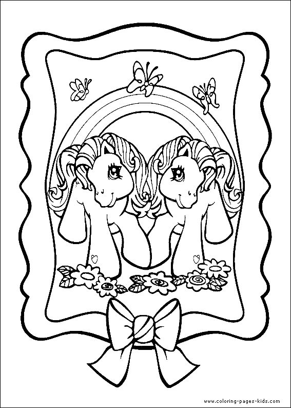 my little pony coloring pages bing images