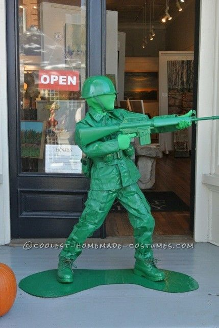 Cool Toy Army Men : Cool plastic army boy halloween costume coolest