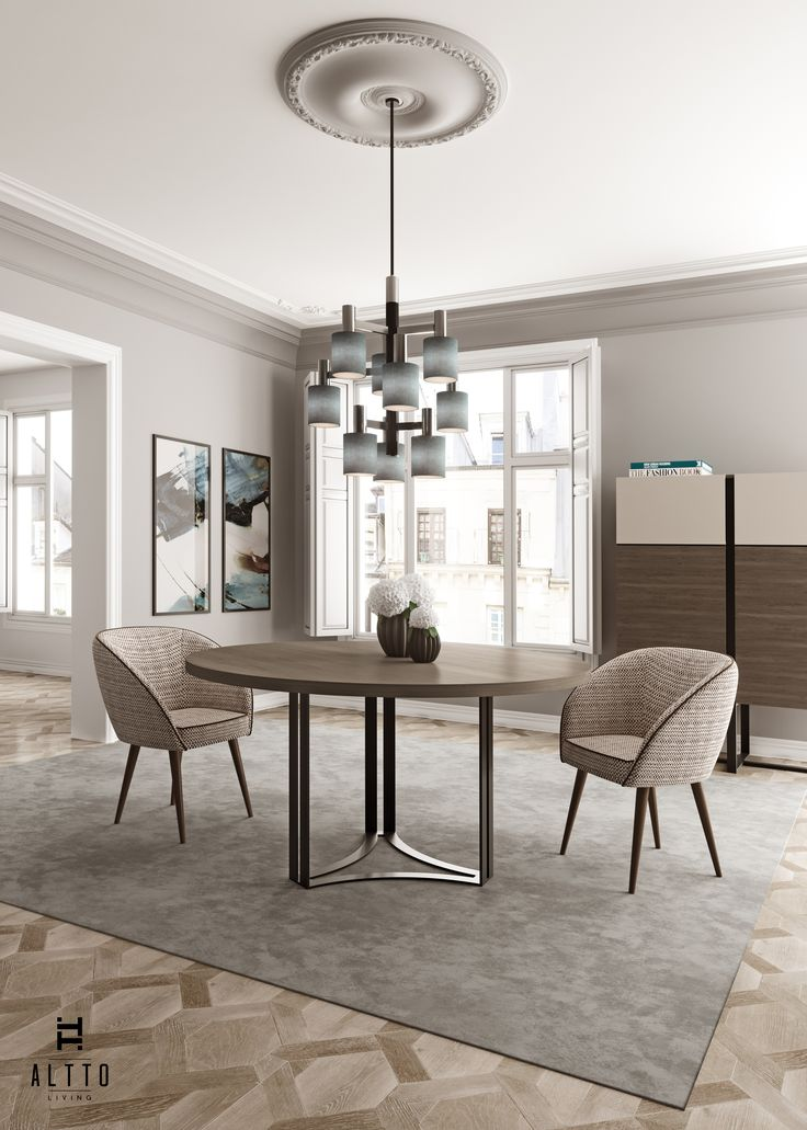 ALTTO | Dining room decor ideas for an eclectic and contemporary interior project