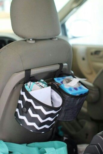 Thirty-One Gifts - Oh snap bins ($10 each!) help you keep your car clutter free!