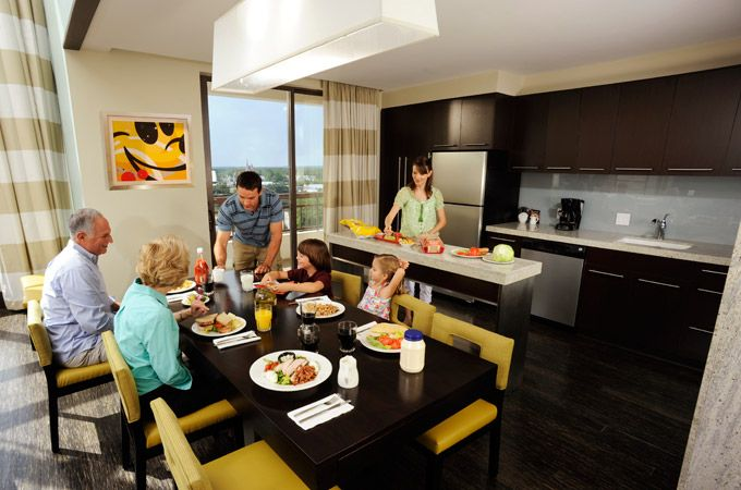 Bay Lake Tower At Disney 39 S Contemporary Resort Deluxe Villa Resort Full Kitchen And 1 Or 2