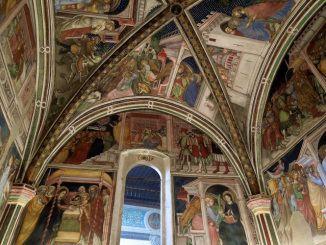 Palazzo Trinci in Foligno - interno