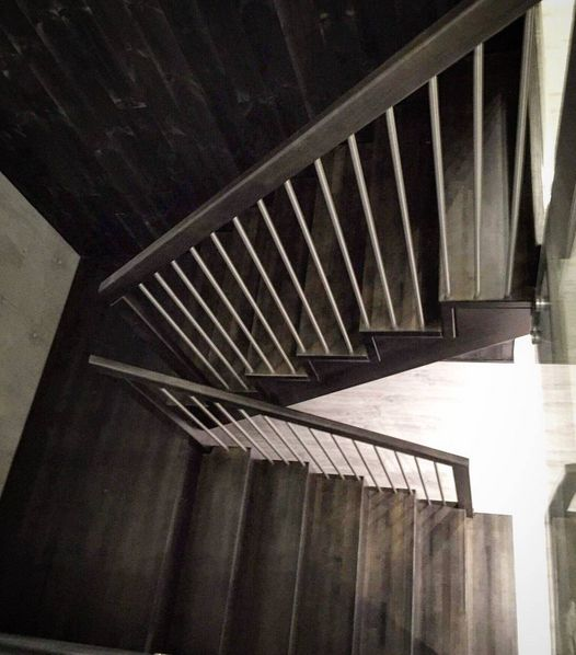 Liker Kommenter 64 liker      snekkeriet#interior #fiftyshadesofgrey #architecture #stairs #passionforwood