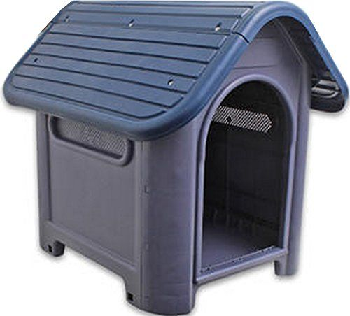 Indoor Outdoor Dog House Small to Medium Pet All Weather Doghouse Puppy Shelter -- See this great product.