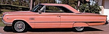 1964 Mercury - imagine this color on a car today???