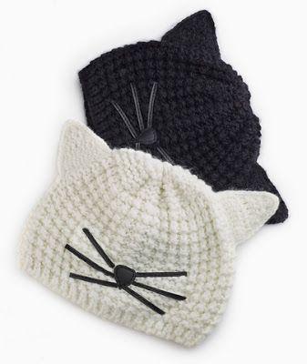 bonnets chats Karl Lagarfeld