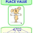 This activity allows students to demonstrate their understanding of place value in a 4 digit number.  It makes use of a SMART widget.  See the inst...