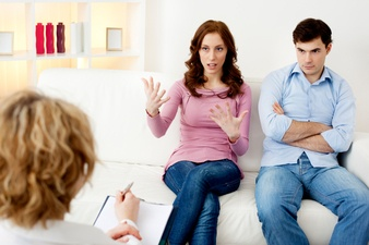 How to have a healthy fight with your spouse, tips and advice on sizzling the fire.
