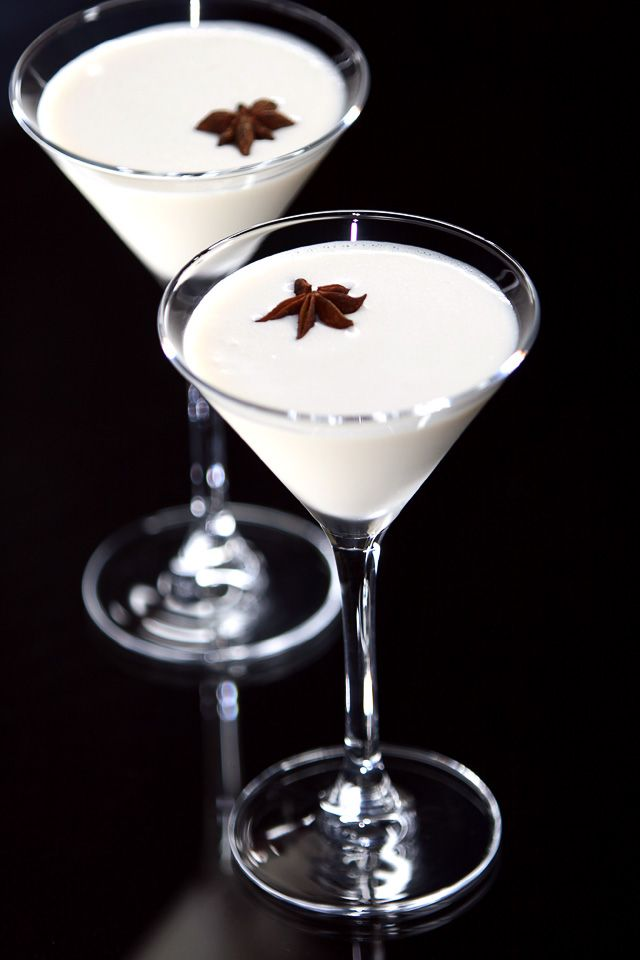 The Alexandra Special Cocktail garnished with star anise ...