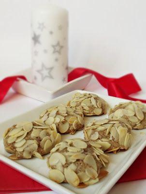 Citromhab: Diós, mandulás keksz