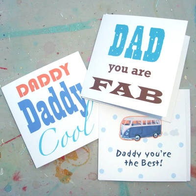 Father's Day Cards illustrated and designed by Gabriella BuckinghamFathers Day Cards, Cards Illustration