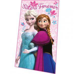 Filtar - Disney - Frost/Frozen Fleecepläd Rosa